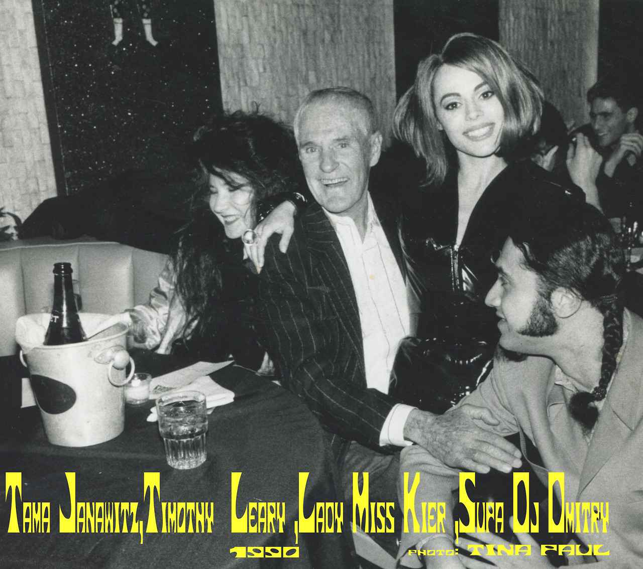"1990!  Meeting Tim Leary was one of the HIGH-lites of the early 90's for me. We sampled him for ""dewdrops in the garden"" . I went to see a play with him about his time in jail with a cell next to Charles Manson-Lady miss Kier  https://www.facebook.com/pages/miss-Lady-Kier/296808489716?sk=wall"
