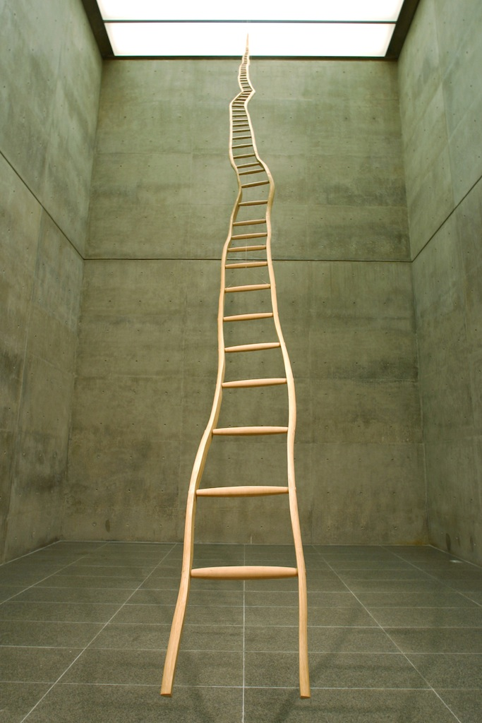 Ladder for Booker T. Washington   by  Martin Puryear   and posted by atavus- lady miss kier…www.ladykier.com
