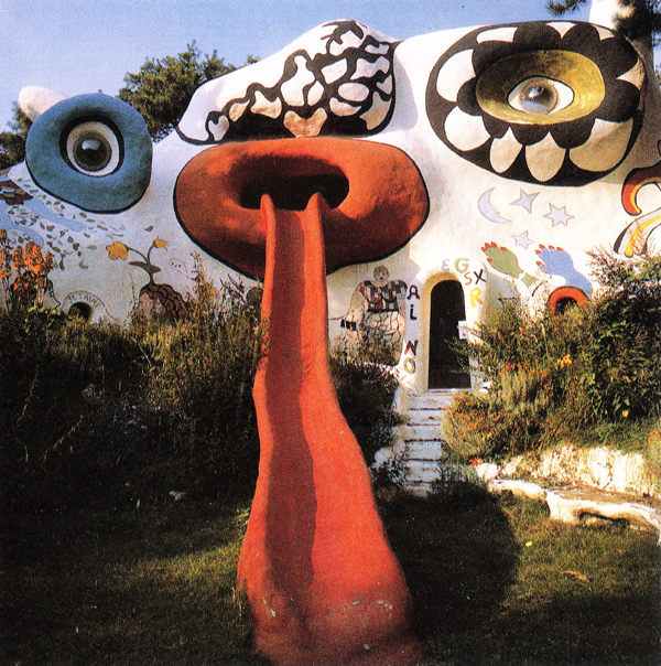 "theladymisskier: Traveling through the italian countryside,Sienna ? , I convinced my traveling companions to make a detour and head towards the ""Tarot card park""designed by Niki de Saint Phalle . She began building her dream in the 60's ..1 sculpture or 1 home  depicting every card in the deck. Very ambitious. She died in the process of following her dream vision , as it's been ongoing for over 40 years. One day .I'll edit the footage we shot there…one day….so little time…so many moments to live for - Lady Miss Kier…www.ladykier.com https://www.facebook.com/pages/miss-Lady-Kier/296808489716?sk=wall"