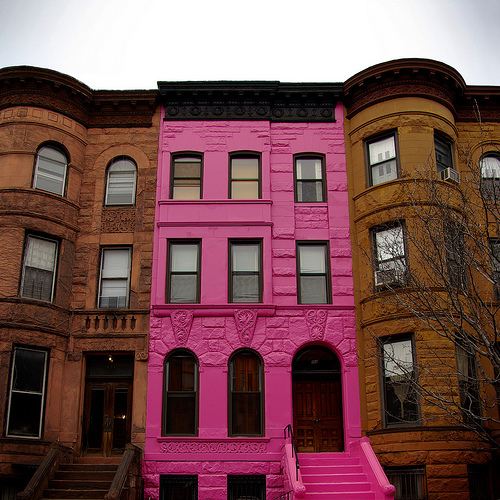 I  love his house in it's pepto bismal pink full glory…neighbors tell a different story ! -lady miss kier thanks  iammylan