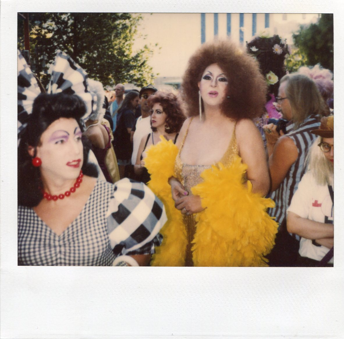 Peter Kwaloff (sp) and Dorian Corey ( what a storey) -Lady Miss Kier      photo by Lady Miss Kier