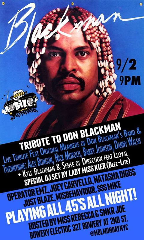 LIVE: featuring the members of Don Blackman's Band and Twennynine