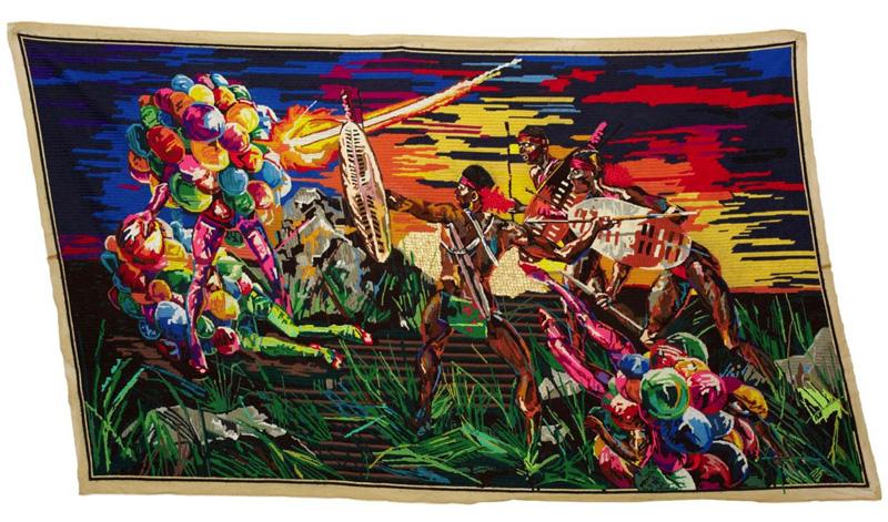 Athi Patra Ruga ……modern art from Africa