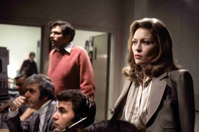 Faye Dunaway in Network … ….they try to done away with her many times…but her art is forever yours and mine. absolute favorite film of hers