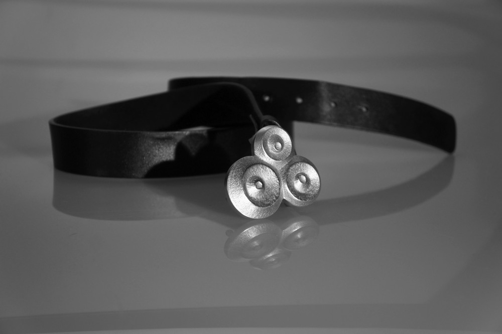 Cast aluminum belt buckle  |  Winter 2012