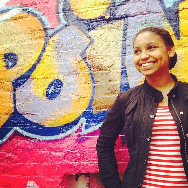 Open Hydrant Youth Member, Manuela Reyes.