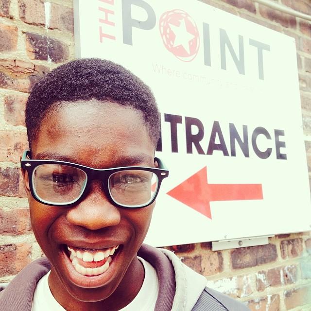 Open Hydrant Youth Member, Kelvin Amartey.
