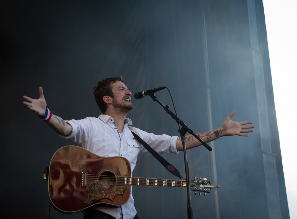 Frank Turner at the Boston Calling Festival