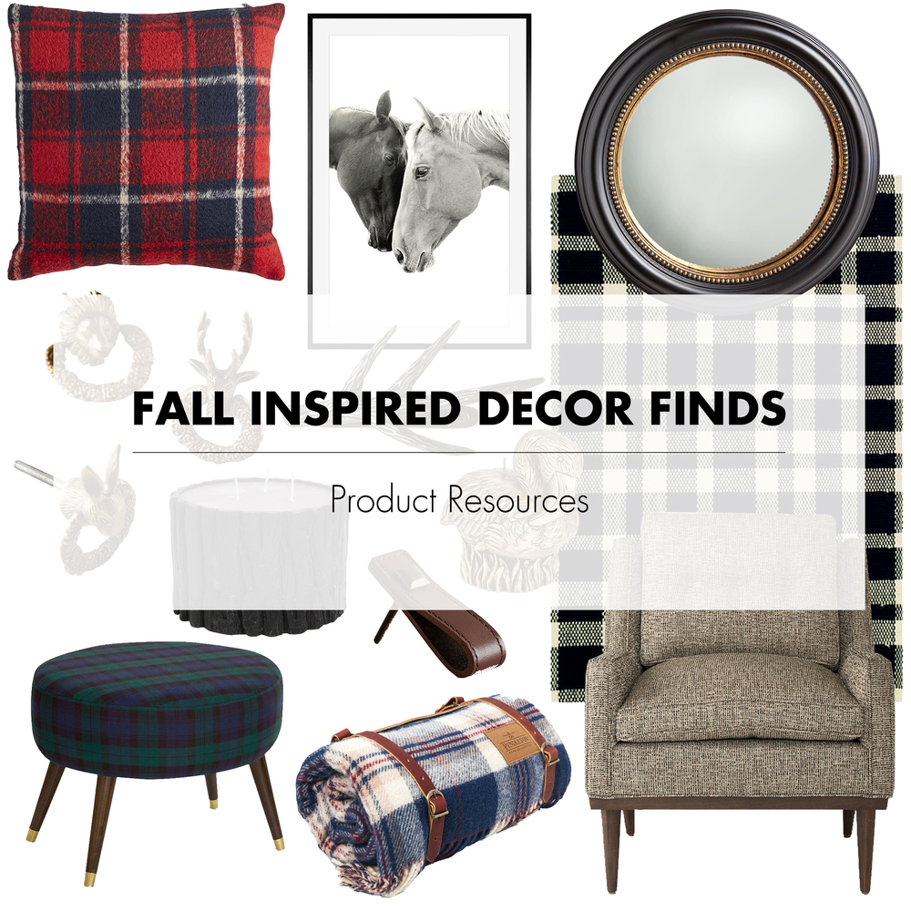 Fall Inspired Decor Finds
