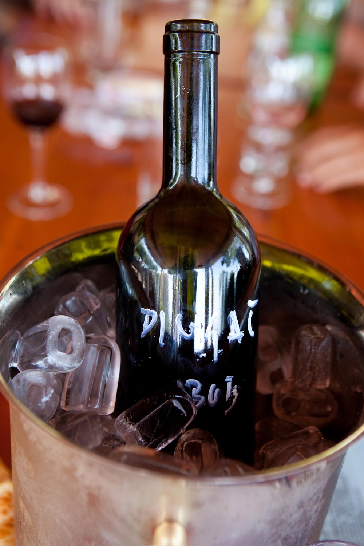 A Bottle of Benmosche Dingac Wine