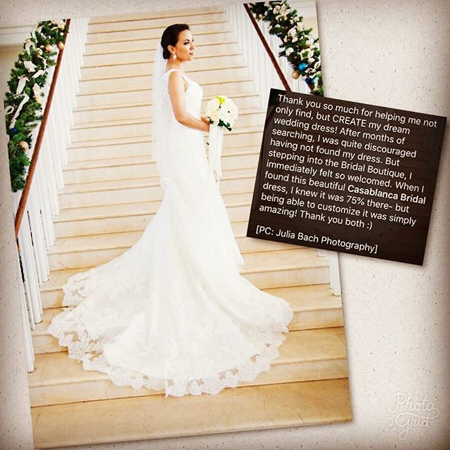 #tbt Our #gorgeous #bride Lisette in @casablancabridal style 2004 which she customized! This is the reason we ❤️ this #weddingdress designer. Always let us know if you love a dress but you wish you could have/add/change/do this! We can make it happen with the endless customizing possibilities 😍