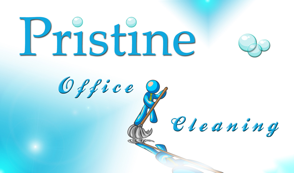LOGO FOR PRISTINE OFFICE CLEANING
