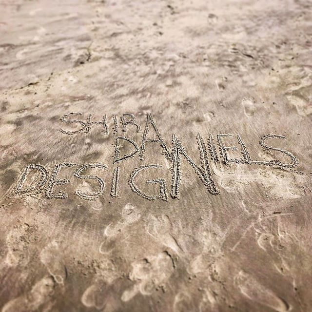 Admittedly not our best design work... ⛱ . #shiradanielsdesign #sandart #beach #whenits84degreesinapril #longbeach #newyork #summerinspring #artist #graphicdesign #graphicdesigns #graphicdesigner