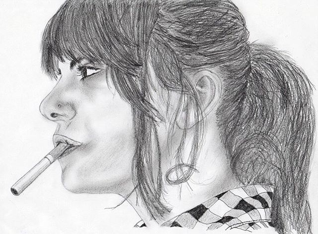 No smoking 🚫🚬 . #shiradanielsdesign #stephanie #throwback #saturday #sketch #drawing #cigarette #cigarettes #smoking #nosmoking #pencil #shading #draw #drawings #idraw #faces #artist #graphicdesign #graphicdesigner #graphicdesigns @stephanie_hirasawa