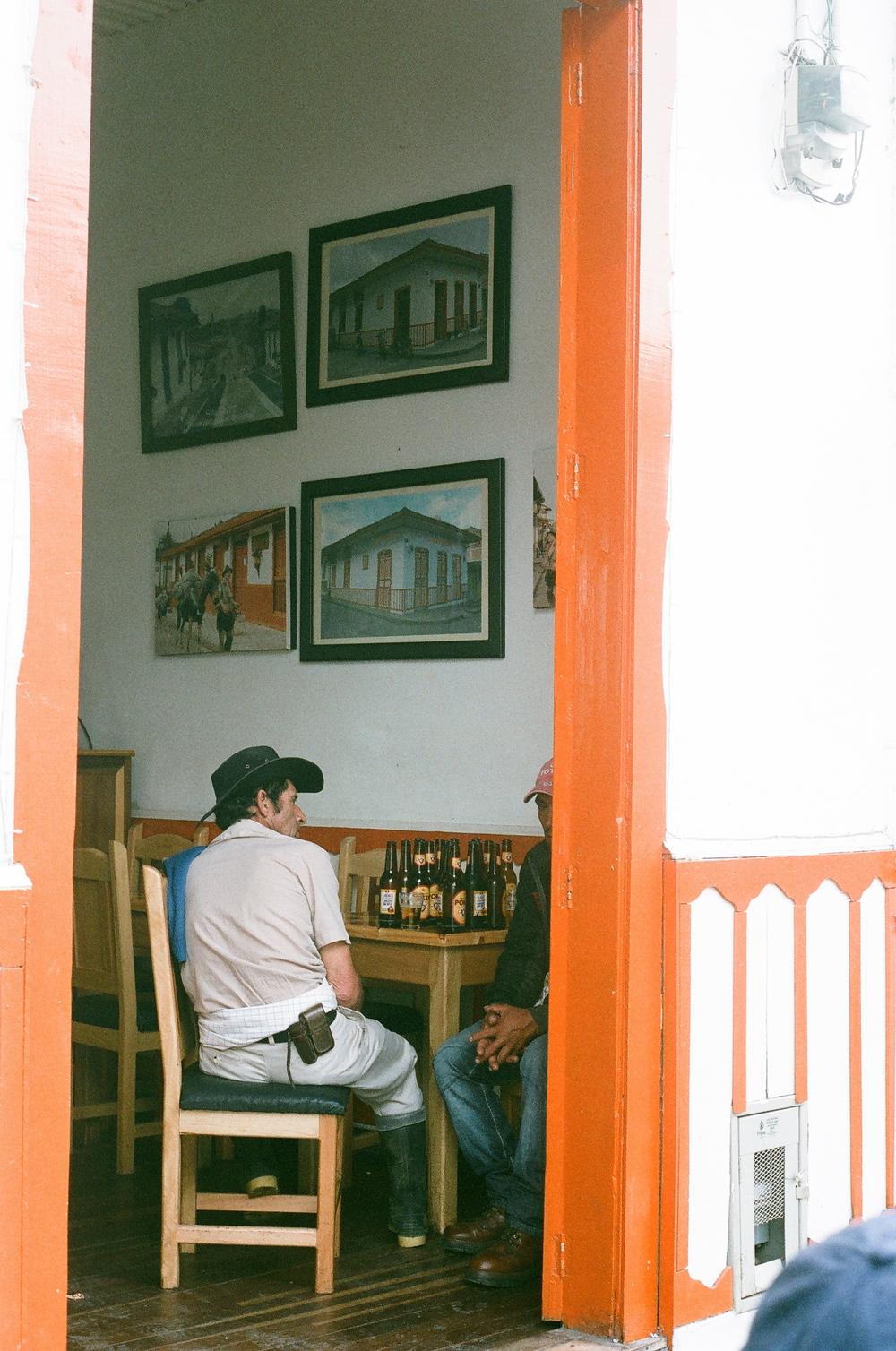 Men in Bar, Colombia