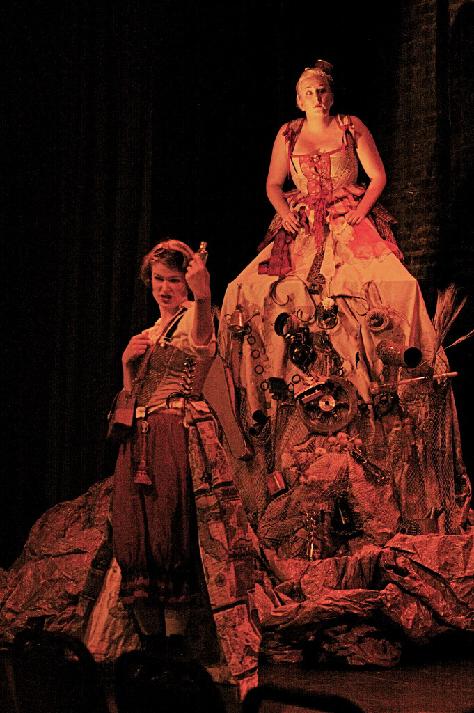 Still from The Endless Frontier, an experimental musical produced by Ko Labs Theater Company. Completed September 2009.
