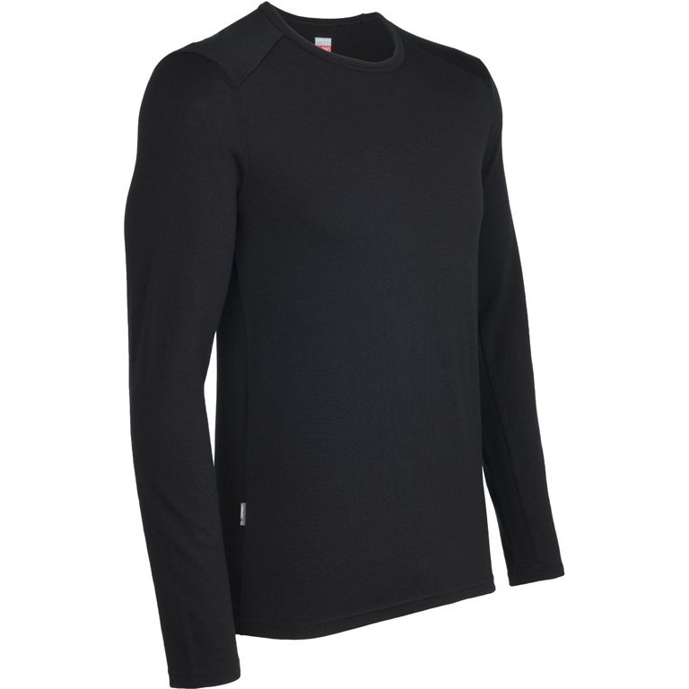 Long Underwear - Top  Icebreaker Tech top Longsleeve with hood  100% merino wool 220 weight