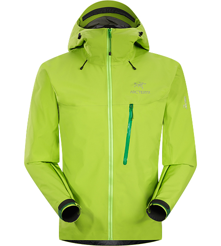 Rain Jacket  Arc'teryx Alpha FL Jacket Men's  Gor-tex Pro