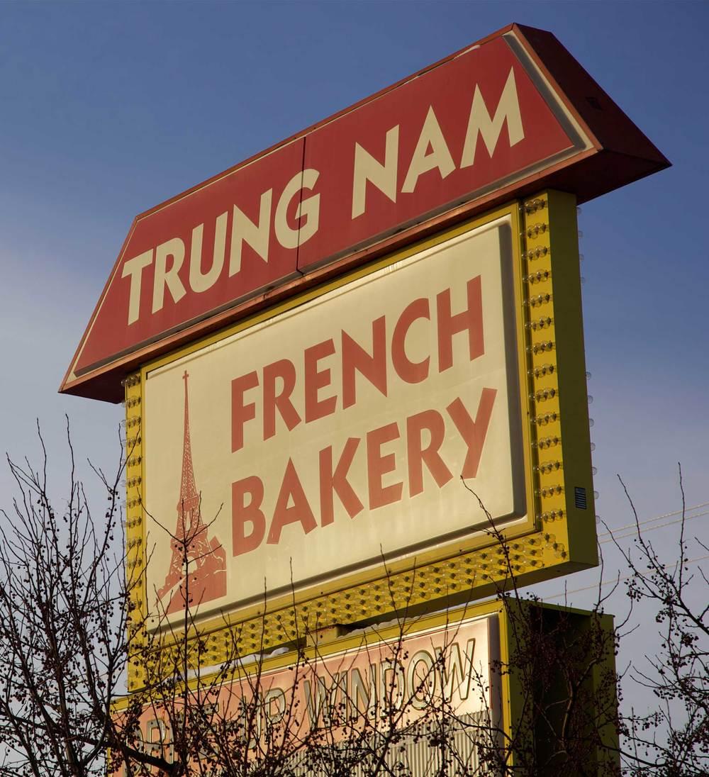 Trung Nam Bakery Signage