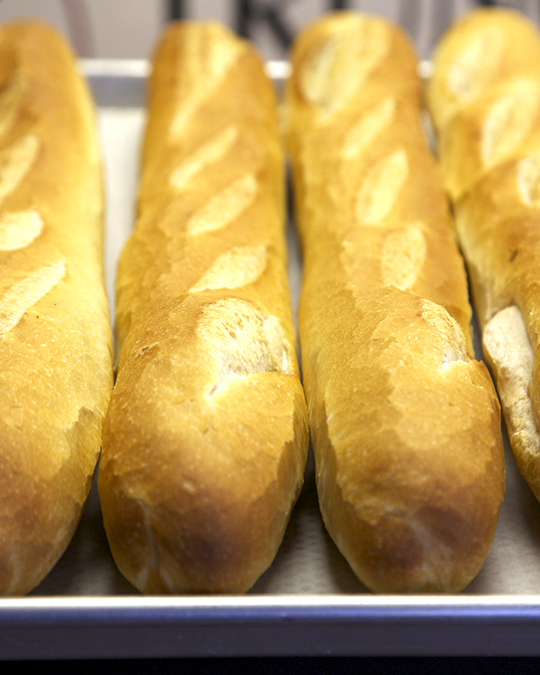 Baguette   long baguette | $2   short baguette | $.70