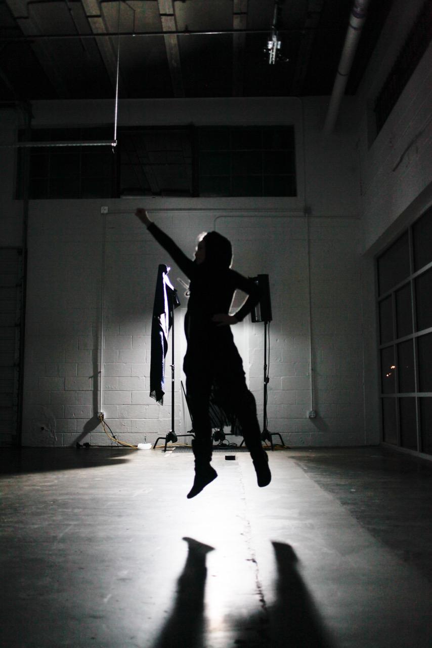 She can fly! (photo: Kate Gazaway)
