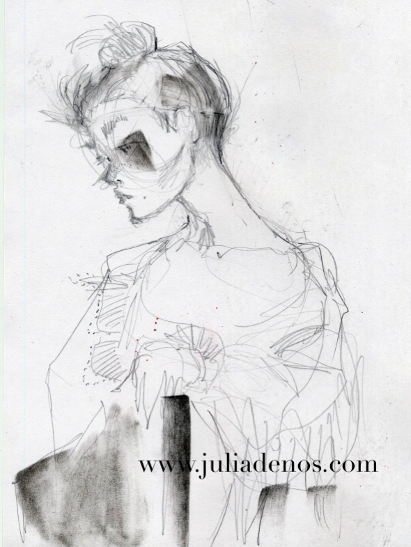 Julia Denos Sketchbook