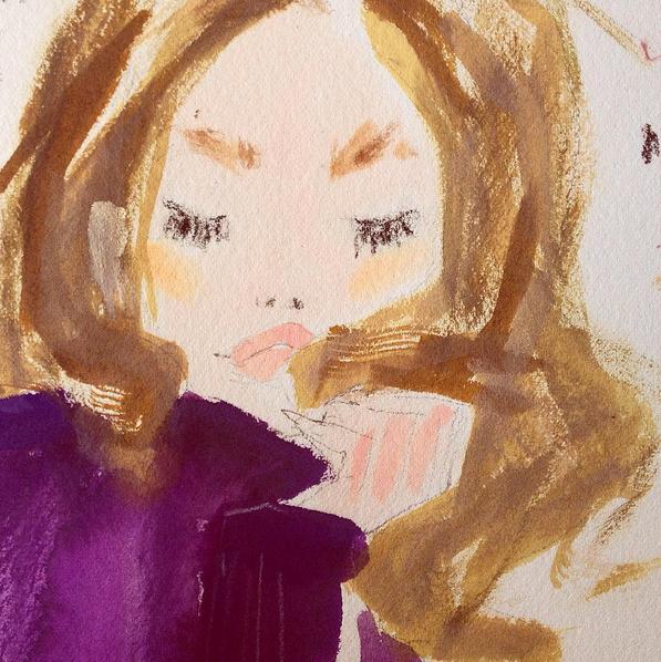 Fashion illustration Julia Denos