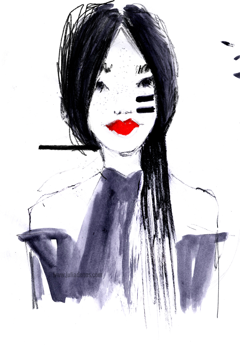 Julia Denos Fashion Illustration