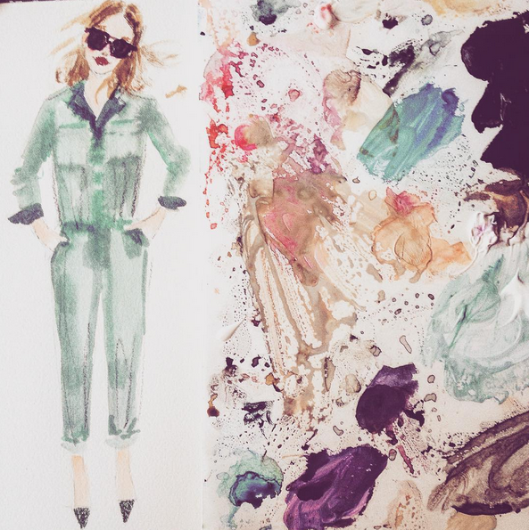 Julia Denos MADEWELL Fashion Illustration