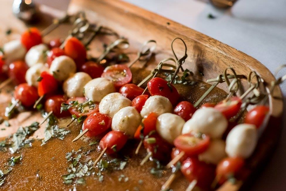 Caprese Skewers are the perfect, fresh appetizer
