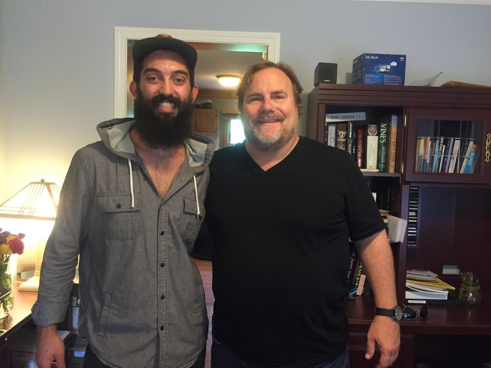 Brian with Kevin Farley.JPG