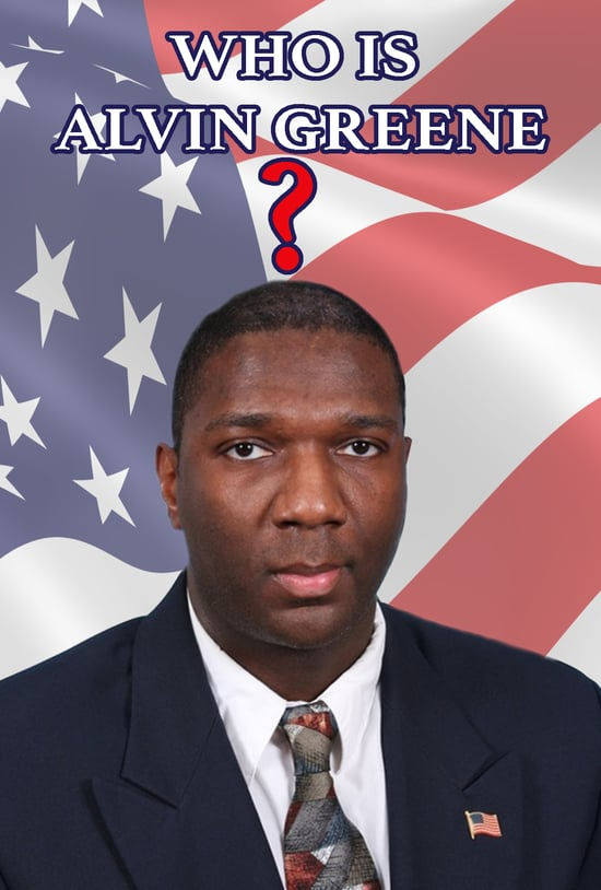 Who Is Alvin Greene? - The story of South Carolina's surprise winner of the Democratic nomination for US Senate. Follow Alvin's journey from obscure private citizen to public figure