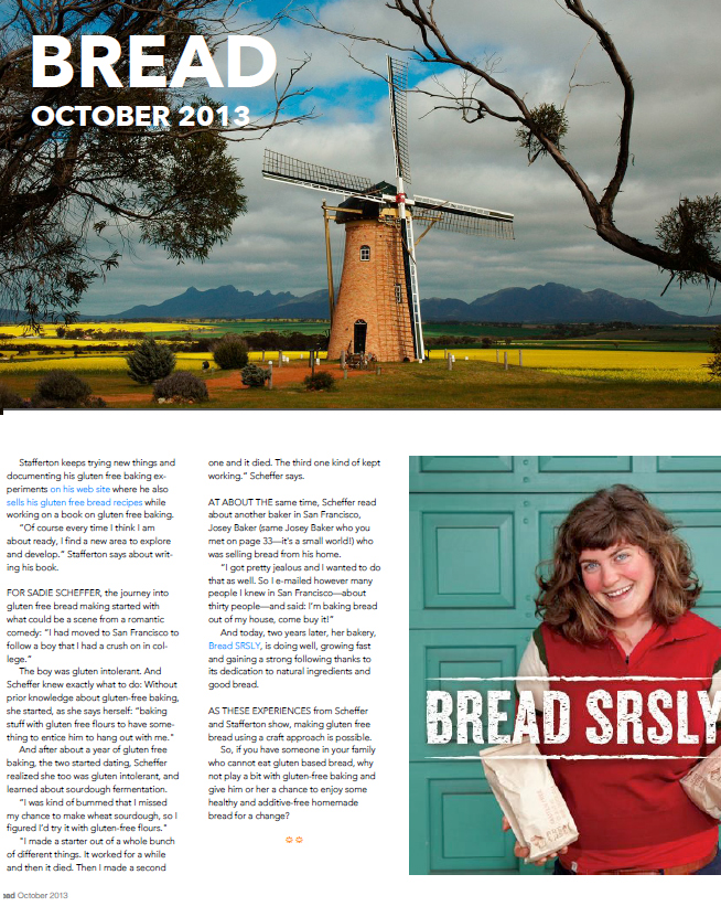 Bread Magazine, 9th Issue. Find the full article  here .