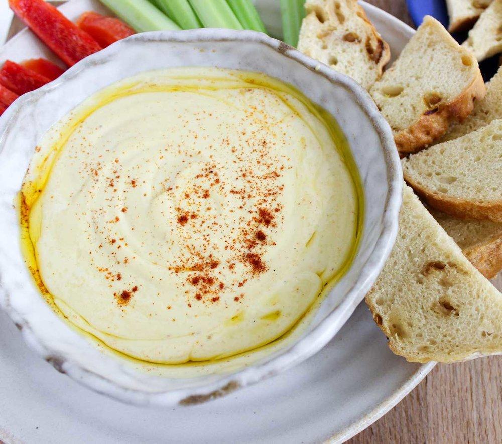 Gluten-Free Cashew Hummus