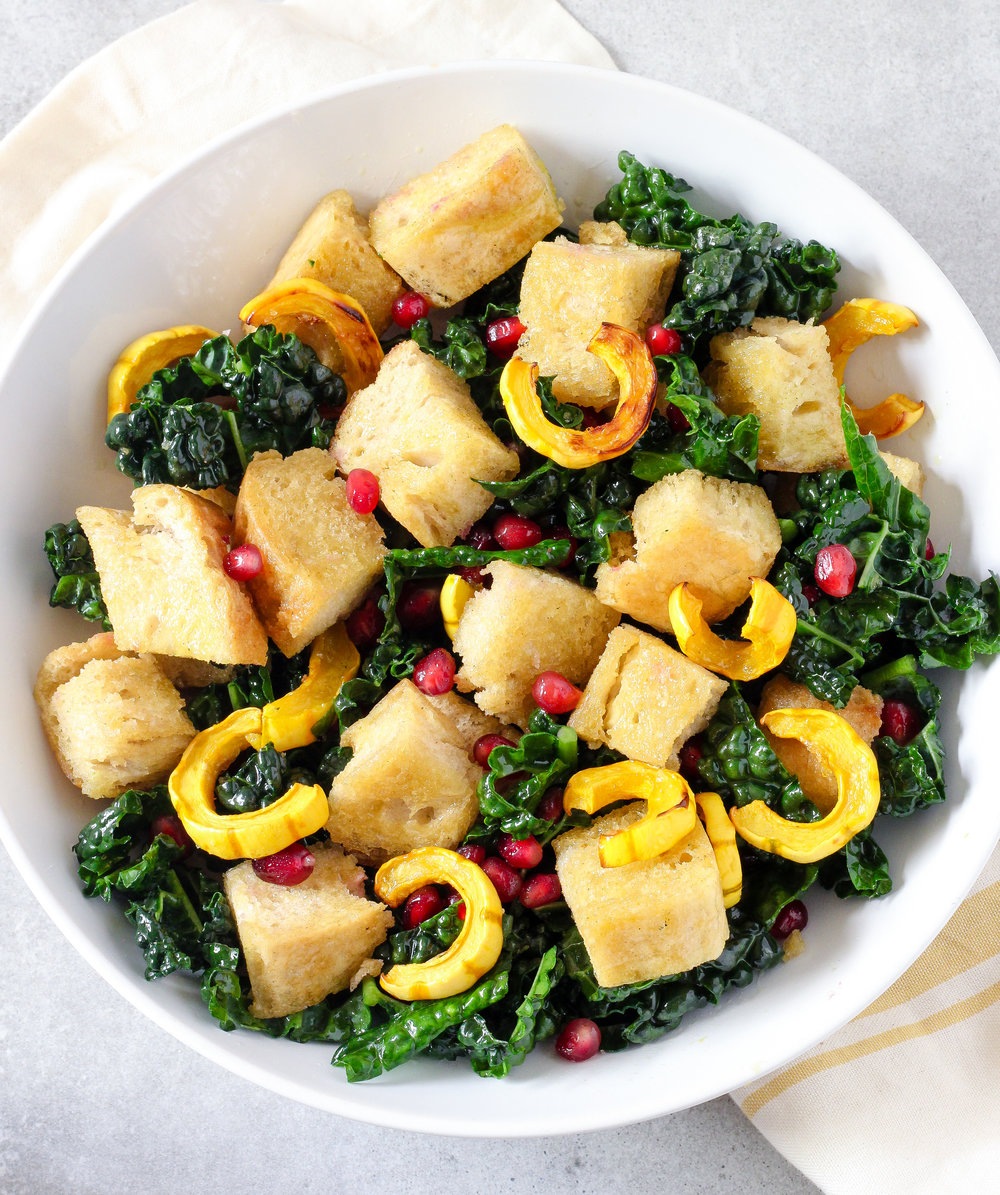 Gluten-Free Harvest Panzanella Salad