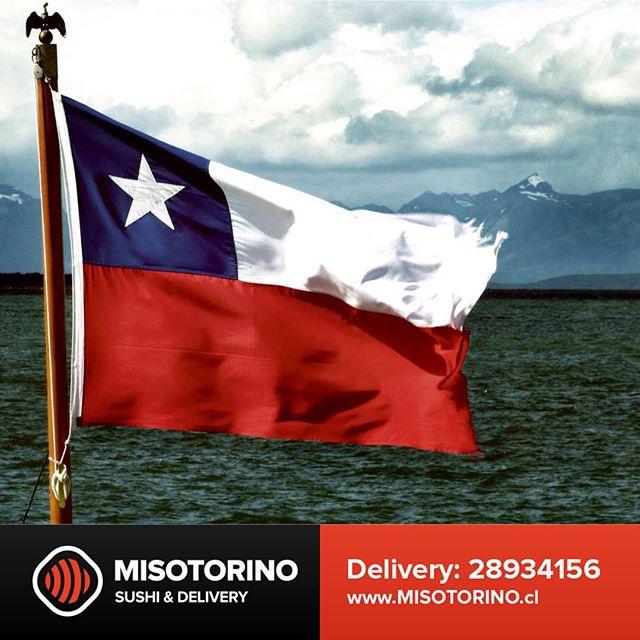 VAMOS CHILE CARAJO!  #MISOTORINO #sushi #LasCondes #santiago #chile #QuieroSushi #PruebaMISO #PremiumSushi #PremiumRolls #sushilover #sushitime #delivery #2015