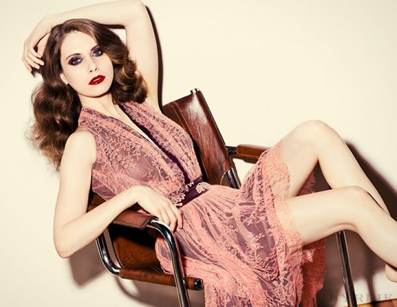 Alison Brie, photo by Justin Coit - Byrdie - April 2014