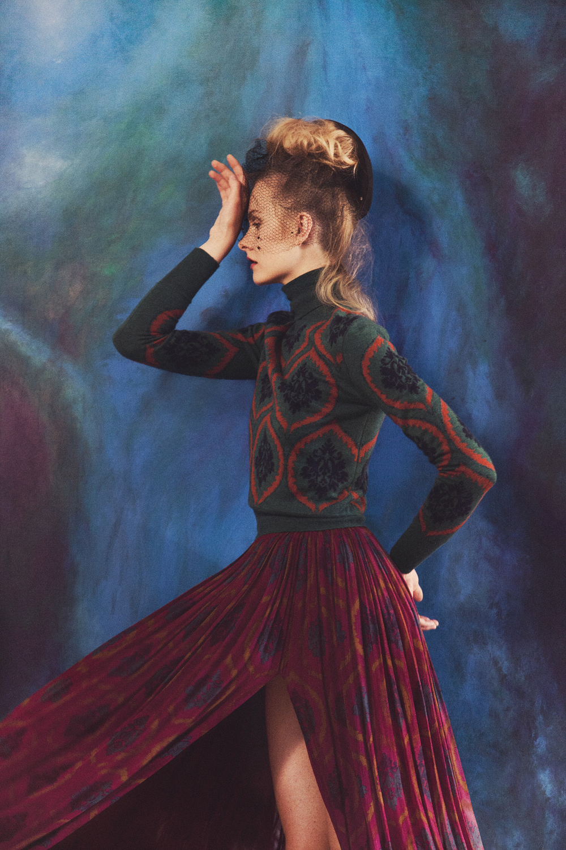 Kamila Filipcikova, photo byglynis carpenter, styled by Soraya Dayani-Lula Magazine - fall 2012