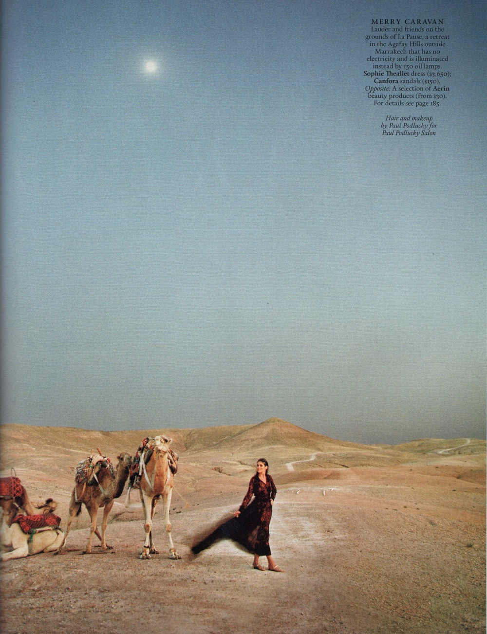 Aerin Lauder, photo by Jonathan Becker, styled by Alexandra Kotur - Town & Country - September 2012