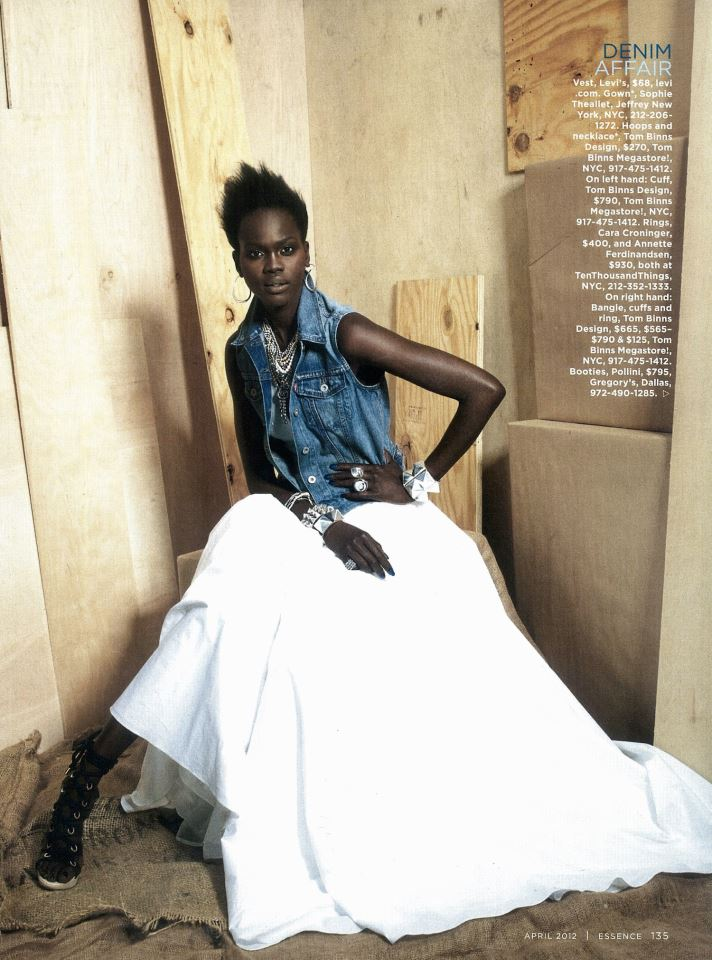 photo by  Marc Baptiste, styled by Freddie Leiba - Essence Magazine - April 2012