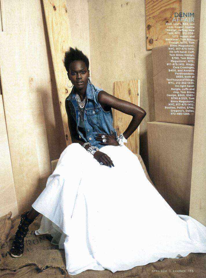 photo by Marc Baptiste, styled by Freddie Leiba - Essence Magazine - April 2012