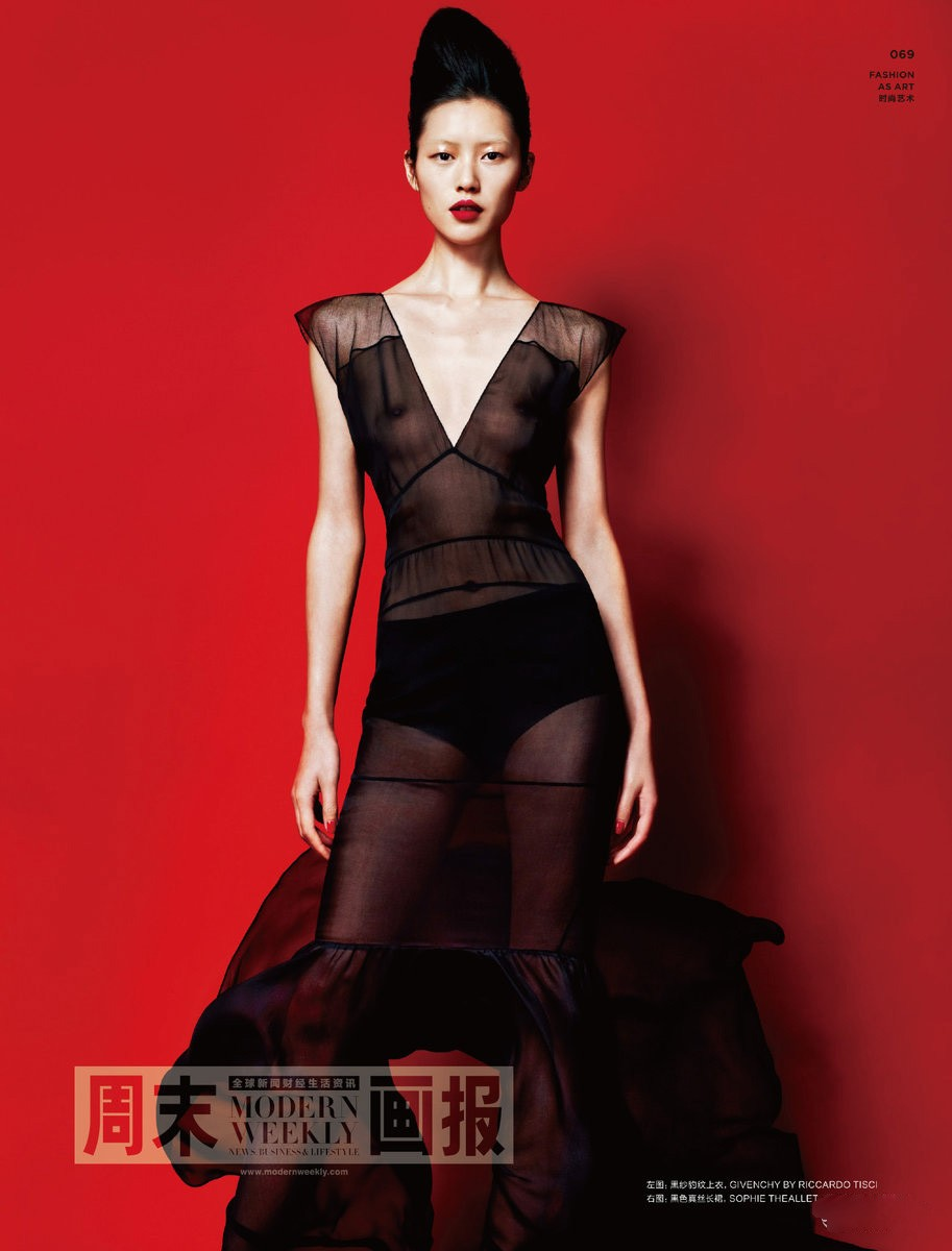 Liu Wen, photo by Kai Z Feng, styled by Joseph Carle - Numero China - March 2011