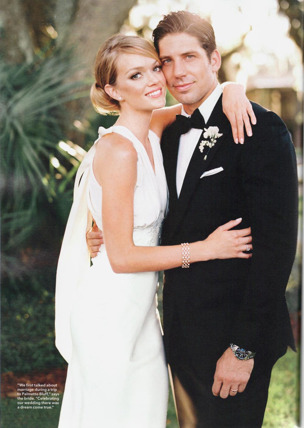 Lindsay Ellingson - Brides - September 2014