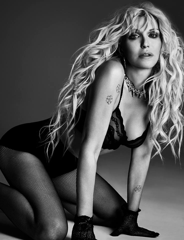 Courtney Love, photo by Damon Baker, styled by Soraya Dayani - Four Two Nine Magazine