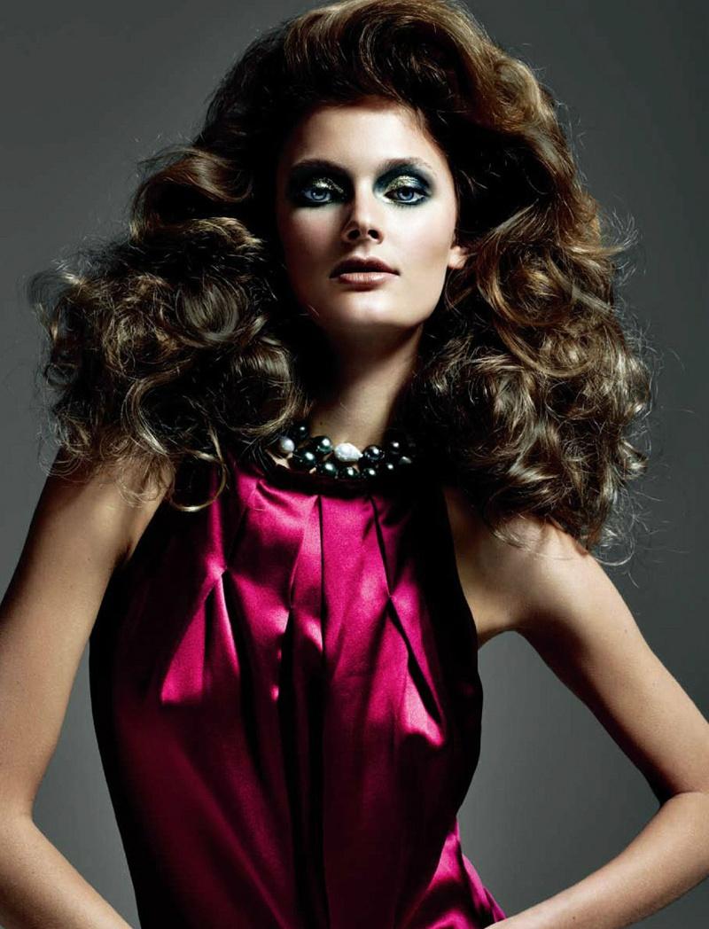 Constance Jablonski, photo by Tiziano Magni, Styled by Joseph Carle -Numéro China - September 2011