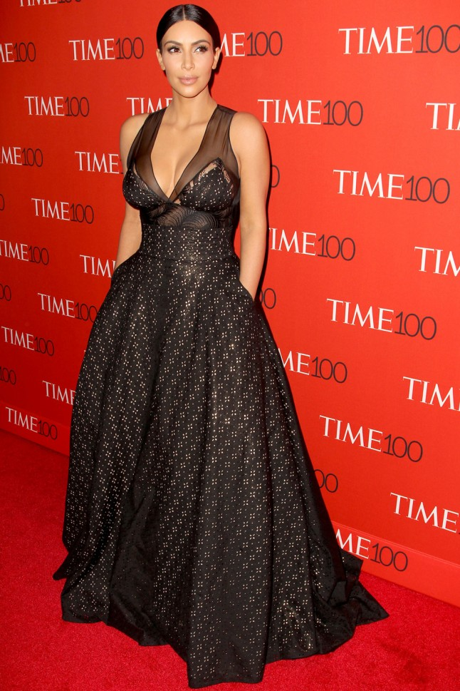 Kim Kardashian - sophie theallet - Time 100 Gala - april 2015.jpg