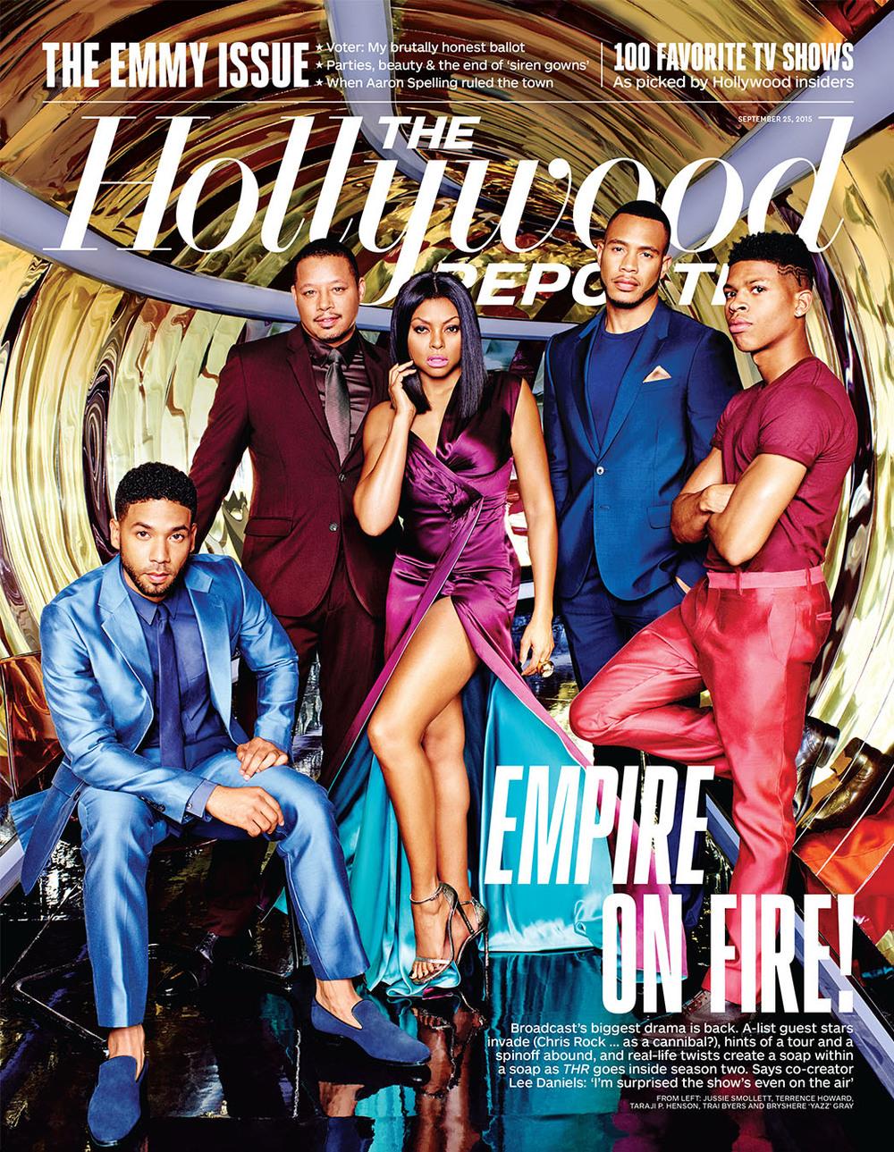 Taraji J Henson, the Hollywood Reporter -Issue 30
