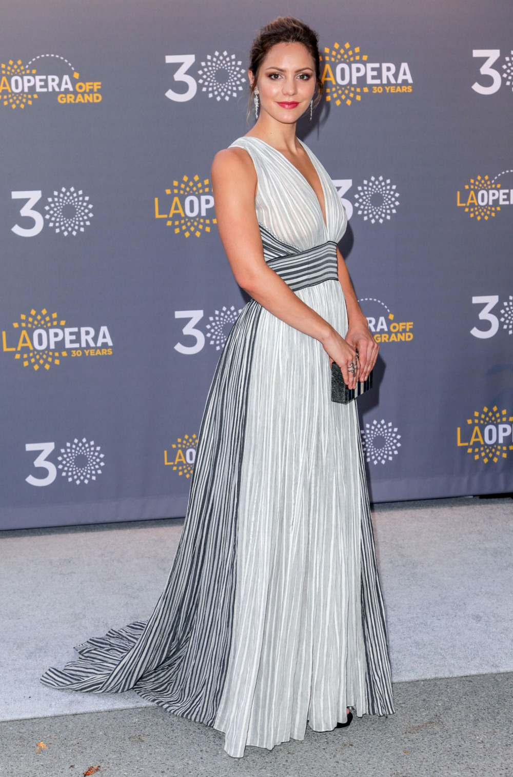 Katharine McPhee at LA Opera's 30th Anniversary Season Opening wearing sophie theallet.jpg
