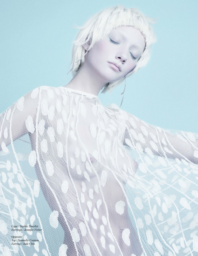 Lara McGrath, photo by Ed Maximus, Styling by Raymond Gee - Schon magazine
