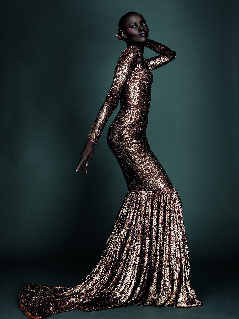 Grace Bol, photo by Alexi Lubomirski - diverse beauty